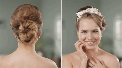 hairstyle for 50 yr wedding over 50 years of wedding hairstyles in two minutes