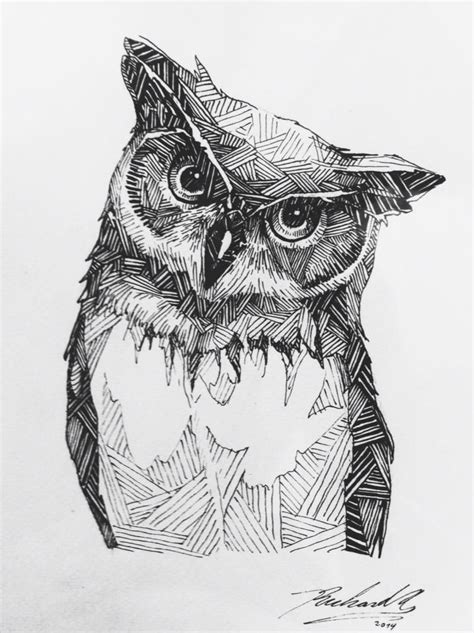 imagenes visuales tactiles richard norambuena illustrated owls pinterest