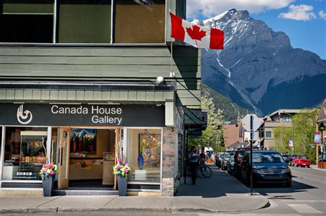 canadian house canada house gallery opening hours 201 st banff ab