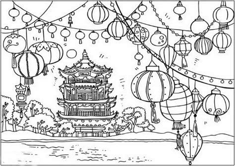 lunar new year coloring pages chinese new year snake coloring pages family holiday net