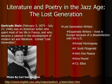 themes in lost generation literature ppt education and popular culture section 3 powerpoint