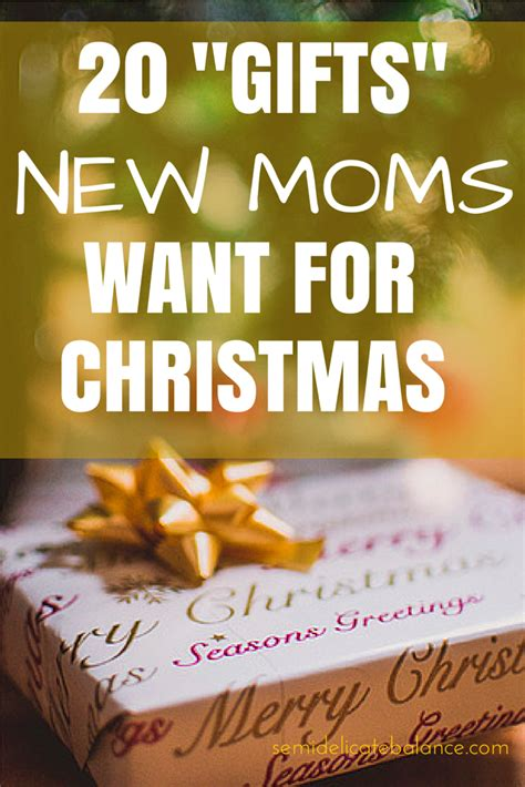 here are 20 quot gifts quot new moms want for christmas