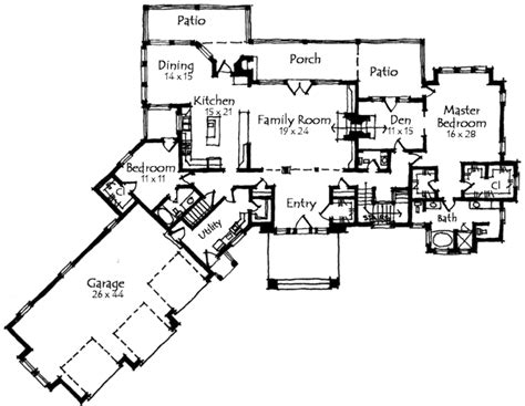 Monsterhouseplans by Craftsman Style House Plans 4812 Square Foot Home 1