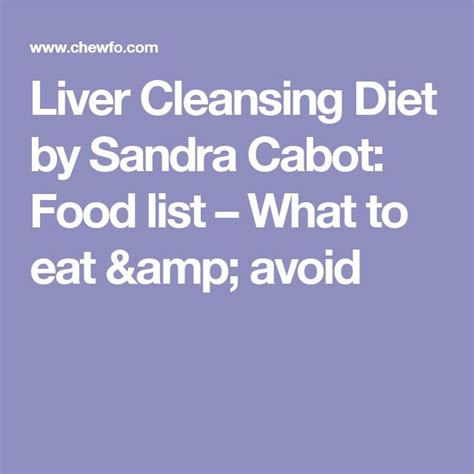 Liver Detox Diet Foods To Avoid by 25 Best Liver Cleansing Diet Stuff Images On
