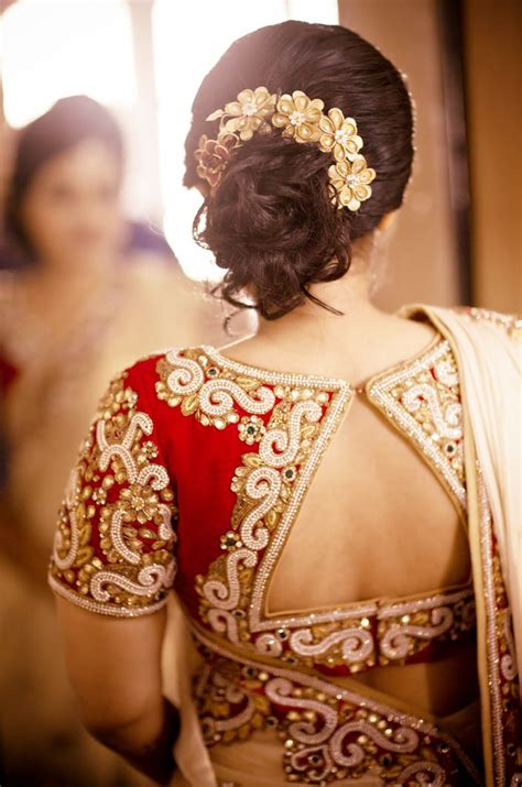 Wedding Hairstyles In India by Indian Bridal Hairstyles For Medium Hair