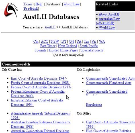 Austlii Search 3 Australasian Information Institute Austlii