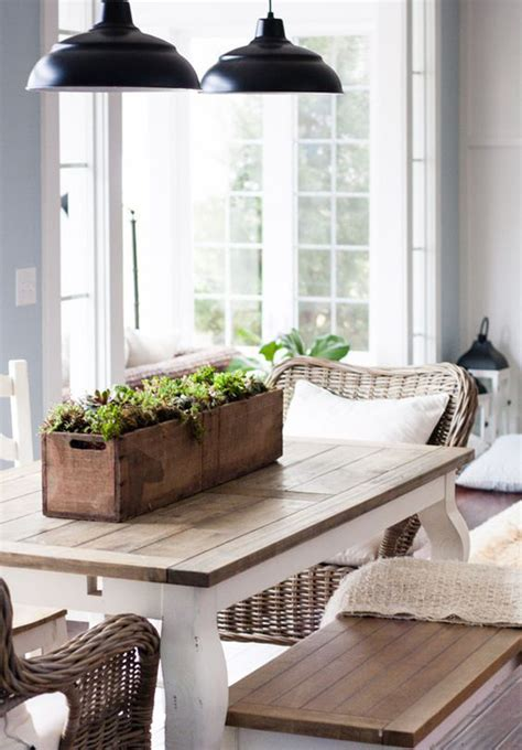 modern country decor 25 calmness dining room with farmhouse style and vintage