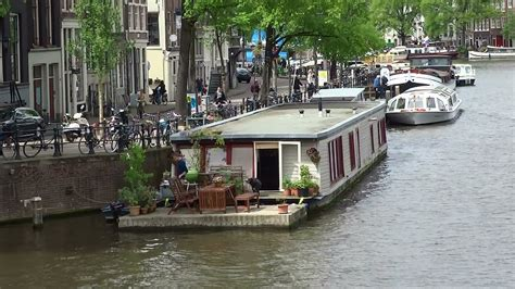 free boats amsterdam canal ring amsterdam houseboats part 1 youtube