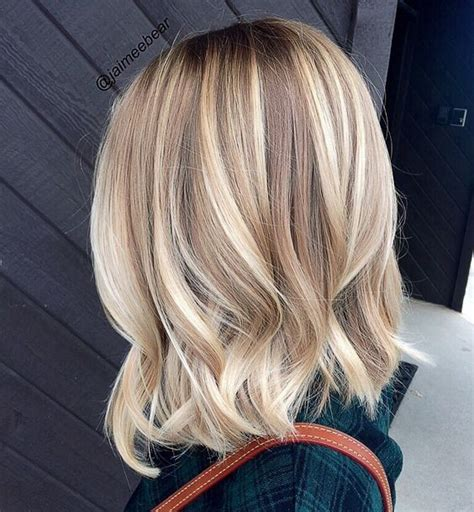 balavage haircolor for medium length blonde hair 20 lovely medium length haircuts for 2017 meidum hair