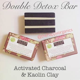 How To Use Charcoal Detox Bar by Detox Bar With Activated Charcoal Kaolin Clay