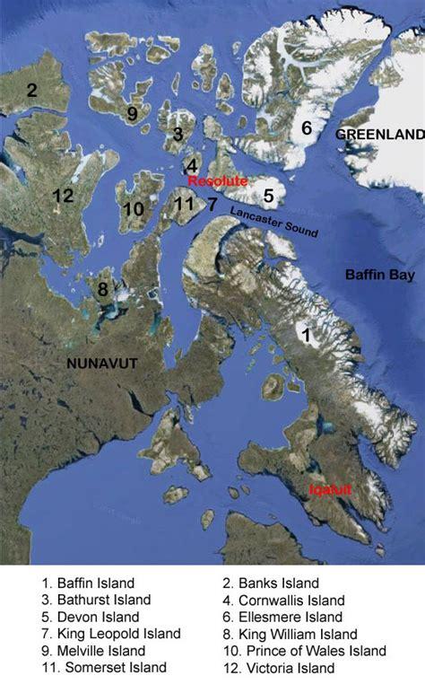 map of canada with islands map of the canadian arctic archipelago aqua firma
