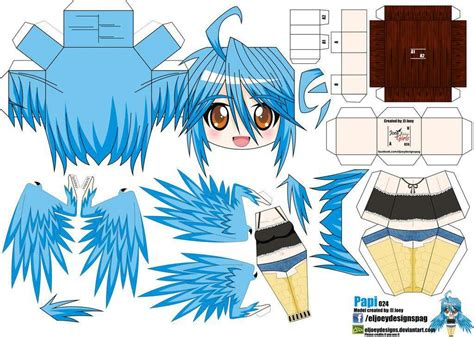Papercraft Anime - musume papercraft anime amino