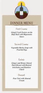 Dinner Menu Templates by Dinner Menu Card And Place Card Templates Dinner