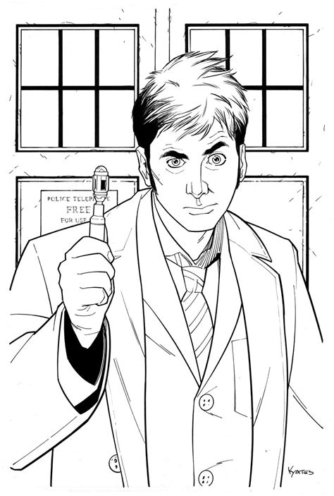10th doctor who by kellyyates on deviantart