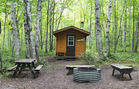 Porcupine Mountain Cabins by Porcupine Mountains Deer Yard Superior Loop