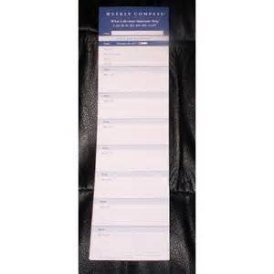 amazon com franklin covey weekly compass refill 10 5 quot x 3 quot