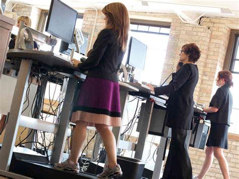 Do Treadmill Desks Work Sitting Standing Or Walking What S The Best Way To Work