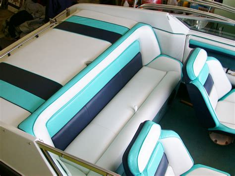 Boat Upholstery by Custom Marine Interiors Upholstery And Carpeting Front