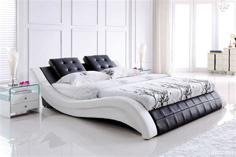 queen leather bed super modern leather queen bed cheap furniture queen