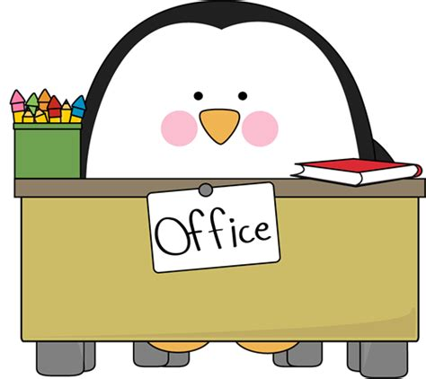 office clipart office penguin clip office penguin image