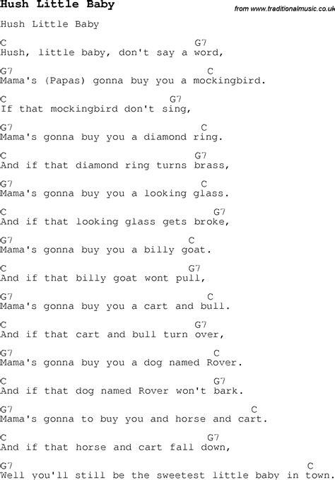 pattern baby lyrics nursery rhymes for guitar thenurseries