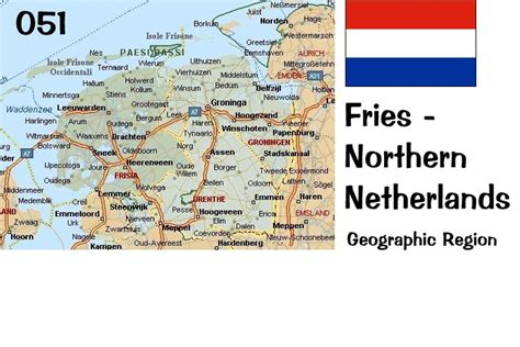 northern netherlands map map and official table