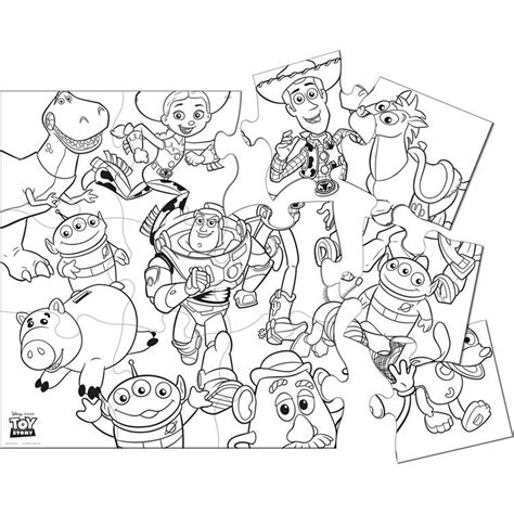 toy story 3 coloring page coloring home