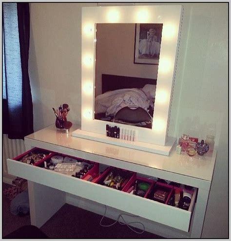 white makeup desk lighted vanity makeup table desk home design ideas