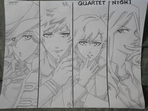 sketchbook quartet quartet my sketch by florilyn chan on deviantart