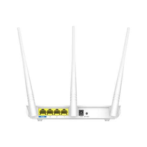 Router Tenda 2 Anten buy tenda f3 300mbps wireless router with 3 fixed antenna 3lan 1wan port te f3 in