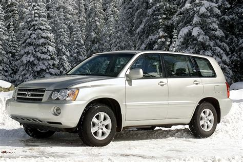 2002 Toyota Highlander Reviews 2002 Toyota Highlander Reviews Specs And Prices Cars