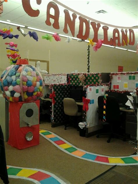 office decoration theme i loved decorating this candyland at the office