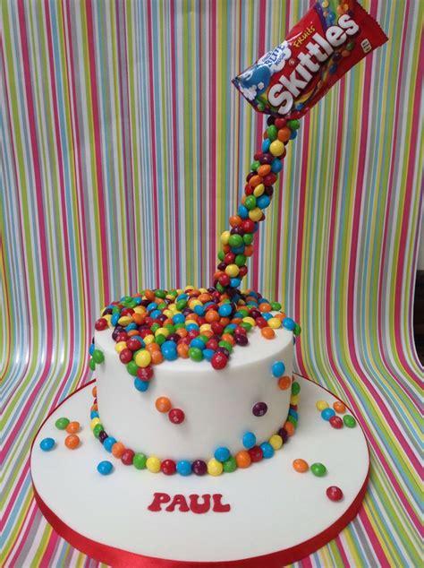 Skittles Decorations by Best 25 Skittles Cake Ideas On