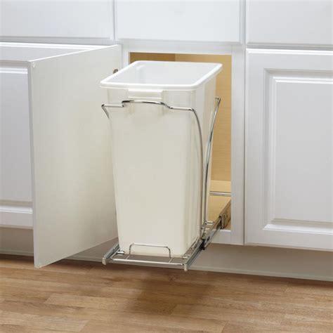 rev a shelf under pull out chrome caddy rev a shelf 19 5 in h x 11 25 in w x 16 25 in d under