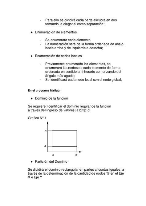 Solución de un problema eliptico elementos finitos matlab