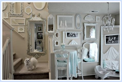 wall of mirrors not so shabby shabby chic more mirrors mirrors mirrors