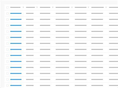 data table design design better data tables ux design collective