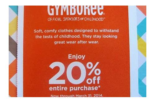 gymboree online coupons codes