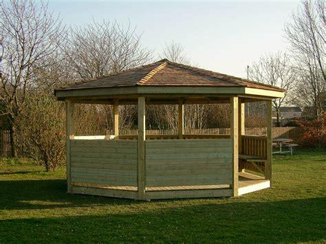 Gazebo Shelter School Pavillion Timber Outdoor Shelter Sustainable