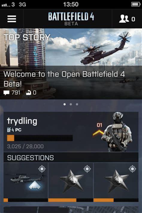 prepare 4 battle with the battlelog app news battlelog battlefield 4