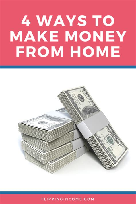 Ways To Make Money From Home Online - 4 ways to make money from home all online flipping income