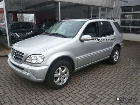 2003 mercedes ml 500 7 seater car photo and specs