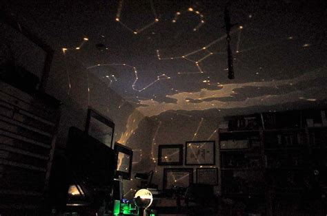 bedroom ceiling star projector i would like to paint constellations on aidan s ceiling when he gets older nerd