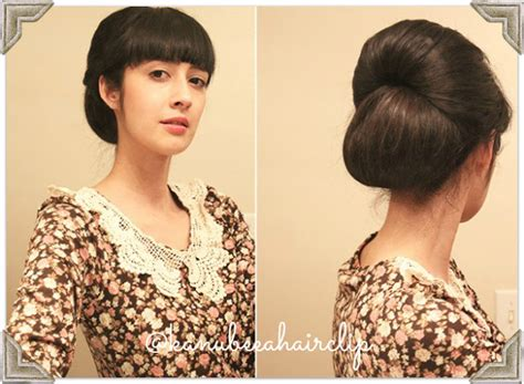 cara membuat sanggul simple dan elegan teruskan tatanan rambut pendek ke pesta hairstylegalleries com