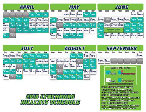 Sox Schedule Printable