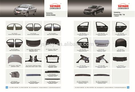 Sparepart All New Corolla grey color toyota corolla 2014 front fender selling
