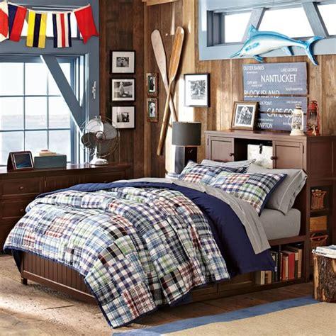tween boy bedding beadboard storage bed set pbteen