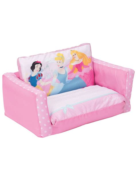 Flip Out Sofa Bed Disney Princess Lounge Furniture