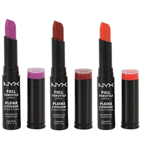 Nyx Throttle Lipstick nyx throttle lipstick 35 standout drugstore