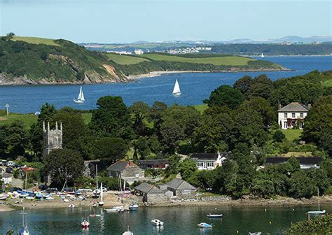 Waterside Cottages Cornwall by St Anthony Cottages For Helford River Gillan Creek